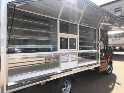 Торговый фургон на ГАЗель Next A21R32