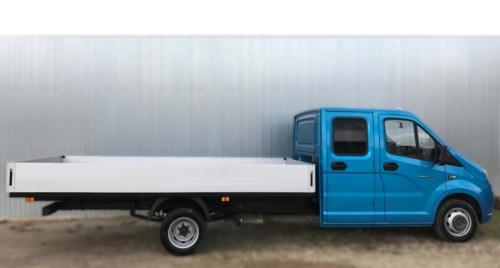 Бортовой автомобиль на базе ГАЗель Next A22R32 с алюминиевыми бортами