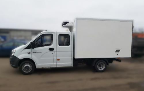 Изотермический фургон-рефрижератор на базе ГАЗель Next А22R32