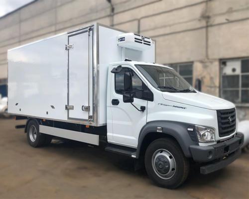 Изотермический фургон-рефрижератор на базе ГАЗон Next C41R33