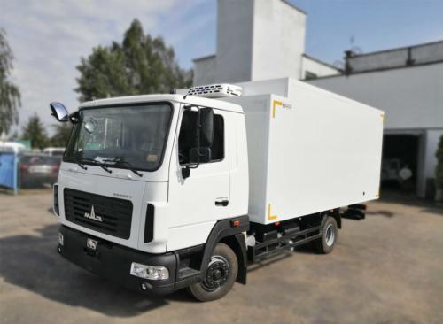 Изотермический фургон-рефрижератор на базе МАЗ 4371