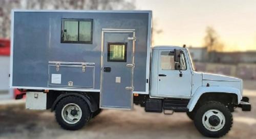 Фургон-мастерская на ГАЗ 33086