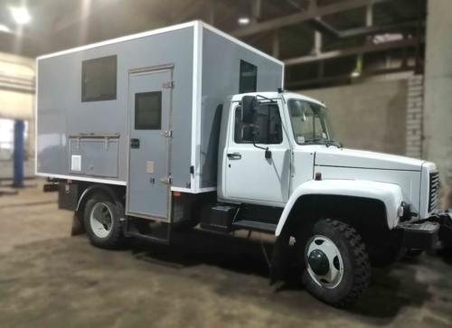 Фургон-мастерская на ГАЗ 33086 спустя 1 год эксплуатации