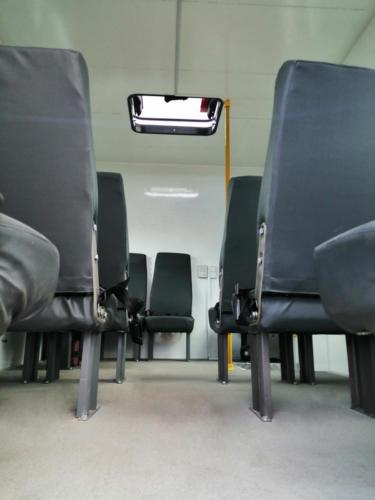 Вахтовые фургоны на базе ГАЗон Next Садко C41A23, вид изнутри
