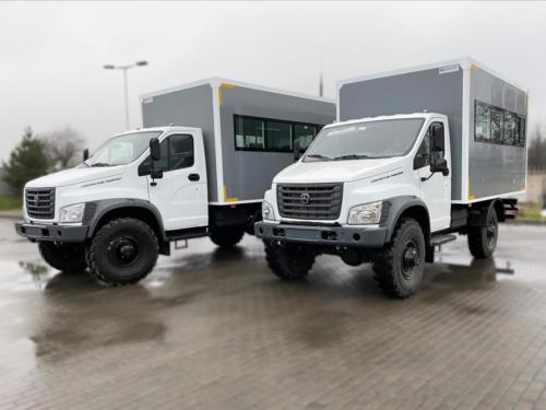 Вахтовые фургоны на базе ГАЗон Next Садко C41A23