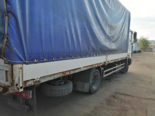 Замена старых бортовых панелей на алюминиевые: После