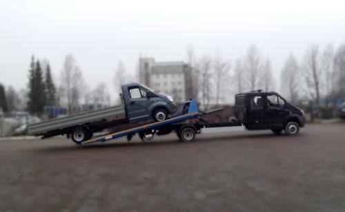 Эвакуатор со сдвижной платформой на базе ГАЗель Next A22R32