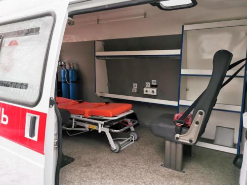 Скорая медицинская помощь на базе ГАЗель Бизнес 2705
