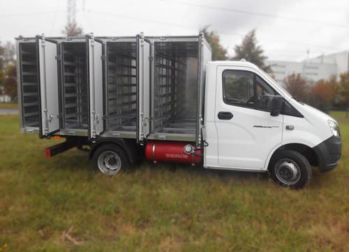 Хлебный фургон на ГАЗель Next А21R33 с ГБО